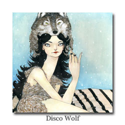 Shannon Toth Disco Wolf
